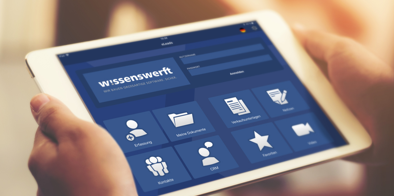 Lead and Showcase App Hannover wissenswerft Appentwicklung
